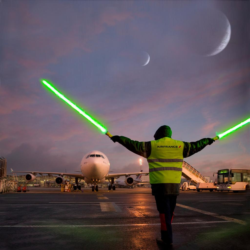 maythe4thbewithyou Air France