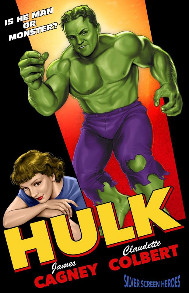 Silver Screen Heroes hulk