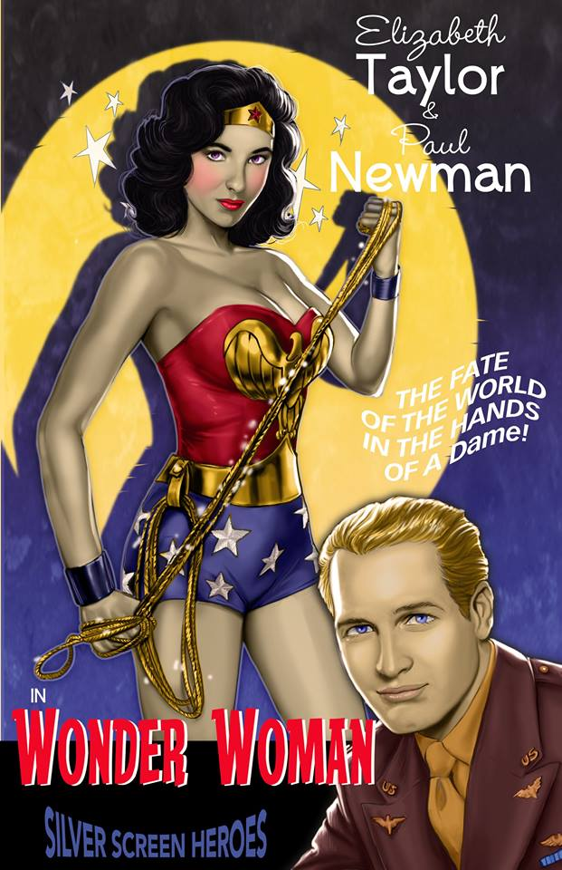 Silver Screen Heroes wonderwoman