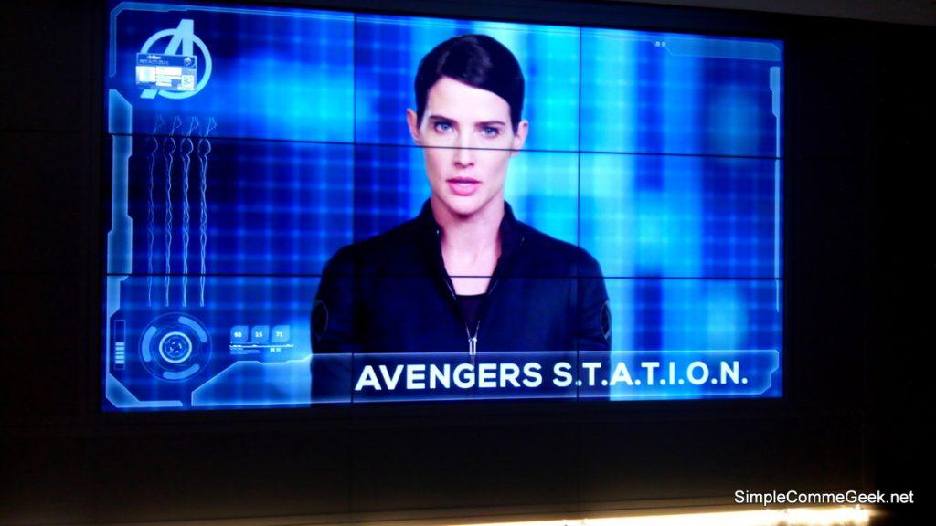 exposition Marvel Avengers S.T.A.T.I.O.N.