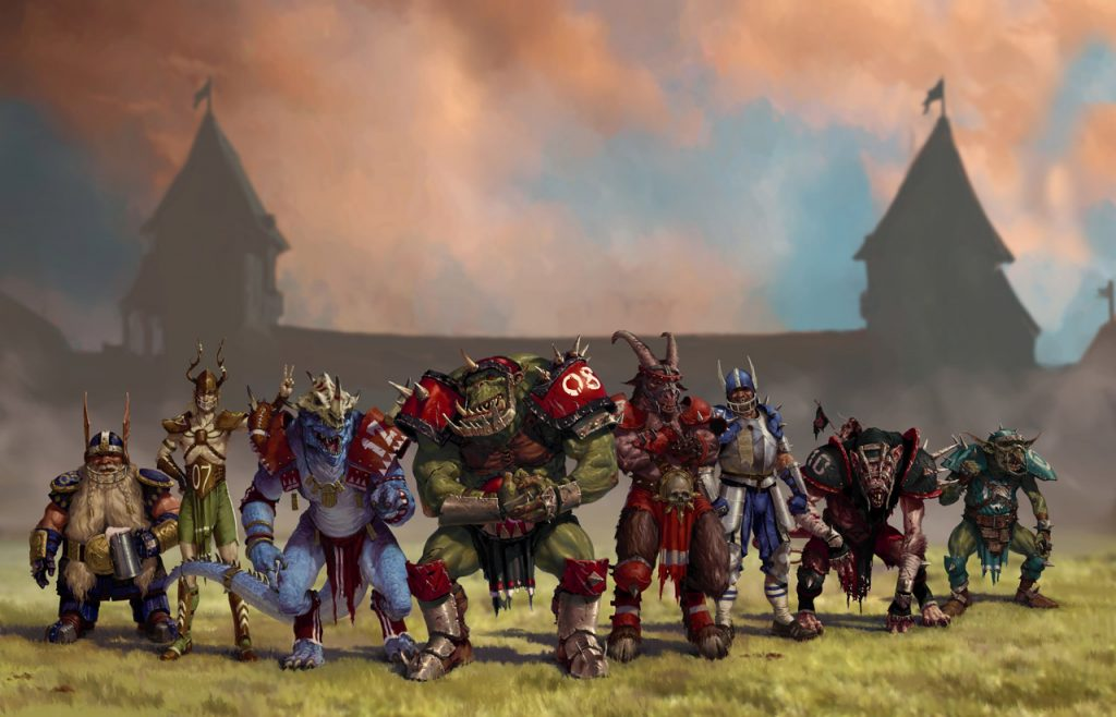 blood bowl personnages