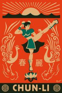 ChunLi, hommage à Street Fighter par El Marques